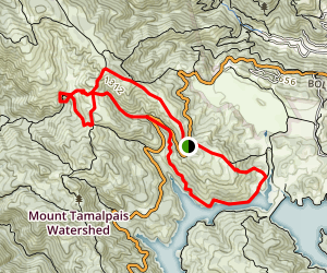 Carson Falls and Pine Mountain Trail Map