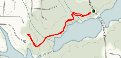 West House Trail Map