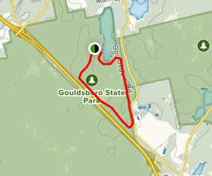 Gouldsboro State Park Trail Map