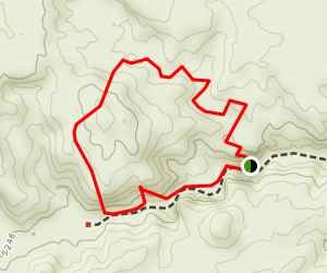 San Lorenzo Canyon  Map