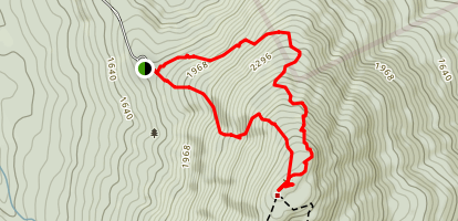Barlow Trail and Winslow Trail Loop Map