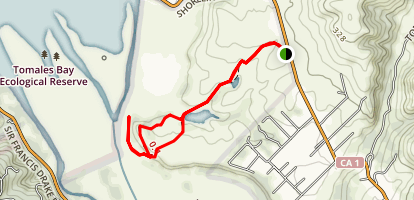 Tomales Bay Trail Map