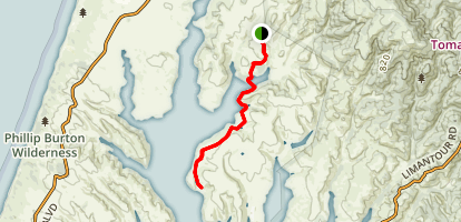 Sunset Beach Trail Map