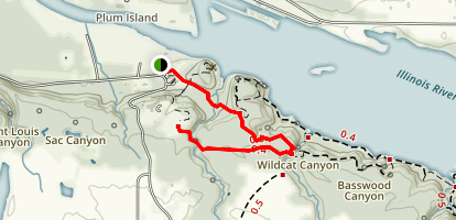 French Canyon Trail Map