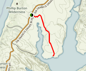 Bull Point Trail Map