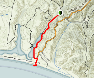 Muddy Hollow Trail Map