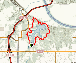 Wyandotte County Lake Loop Trail Map
