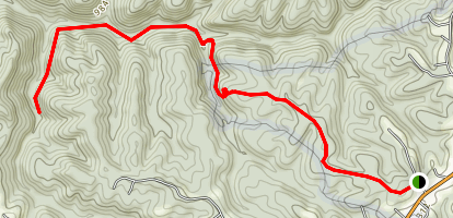 Lick Creek Trail Map