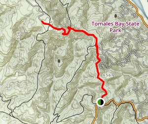 Inverness Ridge Trail Map