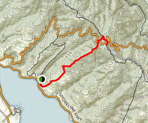 Bourne Trail Map
