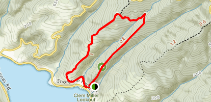 Griffin Loop Trail at Audubon Canyon Ranch Map