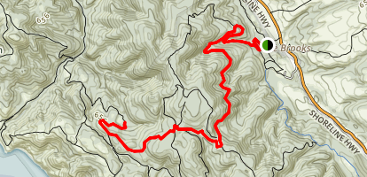 Glen Camp Trail Map
