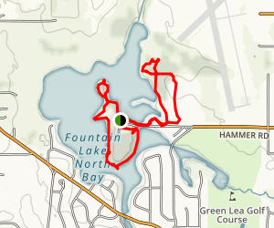 Bancroft Bay Park Trail Map