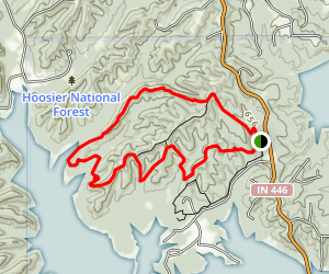 Pate Hollow Trail Map