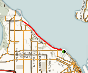 Commencement Bay Trail Map