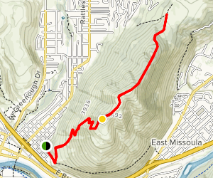 Mount Jumbo Trail Map