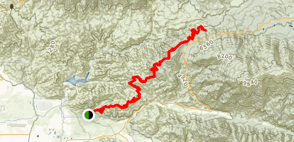 Lower Santa Ana River Trail Map