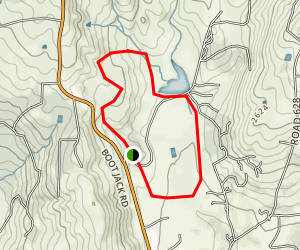 Ahwahnee Hills Loop Map