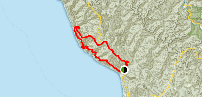Lost Coast Trail: Southern Loop Map