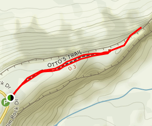 Otto's Trail Map