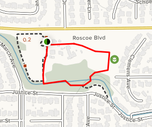 Orcutt Ranch Horticulture Center Trail Map