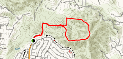 Abeja Loop Trail Map