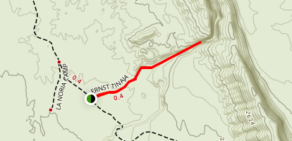 Ernst Tinaja Trail Map