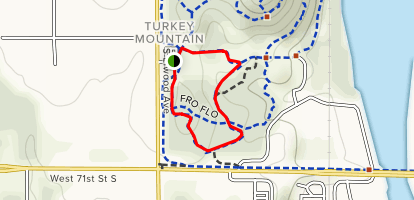 Turkey Mountain Red Trail Map