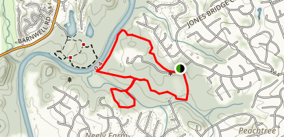 Simpsonwood Loop Trail Map