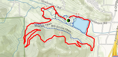 Greenhorn Park Trail Map