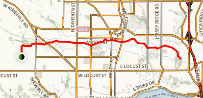 Duck Creek Trail Map