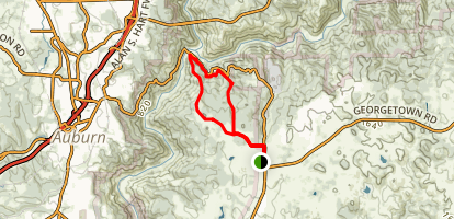 The Cool to Canyon Loop Trail Map