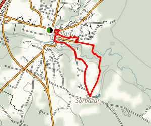 The Roquefort Loop Trail Map