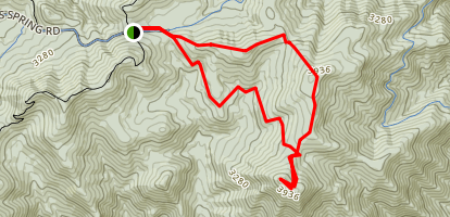 Mount Pleasant Trail Map