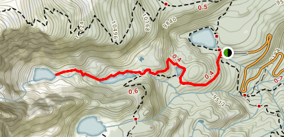 Emerald Lake Trail Map