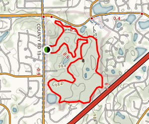 Terrace Oaks Trail Map