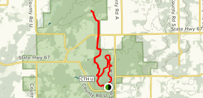 North Kettle Moraine Trail Map