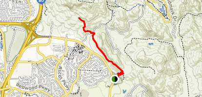 Blue Rock Springs Park Trail Map