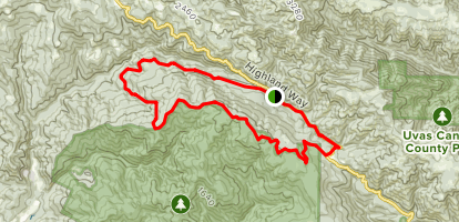 Soquel Demonstration Forest Braille Trail Map