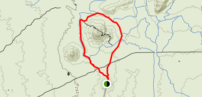 Pima and Dynamite Trail Map