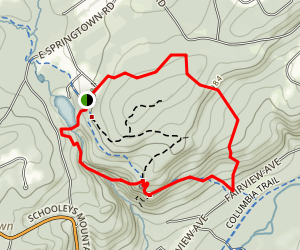 Schooleys Mountain Park Trail Map