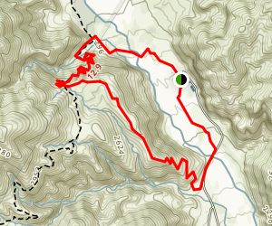 Whitewater Canyon Loop Trail Map