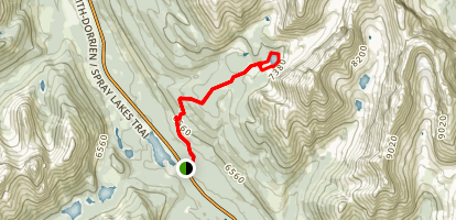 Chester Lake Trail Map