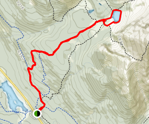 Chester Lake Trail [CLOSED] Map