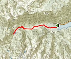 Barney Lake Trail Map