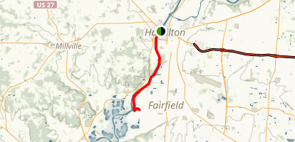 Hamilton-Fairfield Bike Trail Map