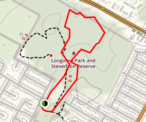 Stevenson Preserve Loop Trail Map