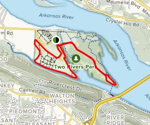 Two Rivers Park Trail Map