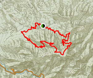 Mount Leconte via Trillium Gap Loop Trail Map