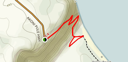 Pololu Trail Map